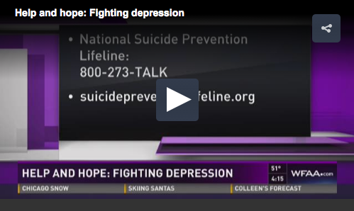 help and hope, fighting depression
